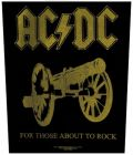 Dossard AC/DC - For Those About To Rock