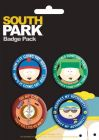 Pack de 4 Badges SOUTH PARK - Texts