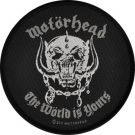 Patch MOTORHEAD - The World Is Yours