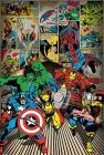 Poster MARVEL COMICS - Here Come The Heroes