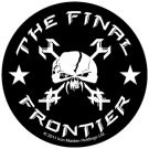 Sticker IRON MAIDEN - Final Frontier Logo