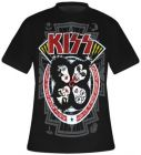 T-Shirt Mec All Over KISS - Rock N Roll Over