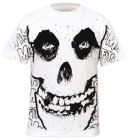 T-Shirt Mec All Over MISFITS - Skull